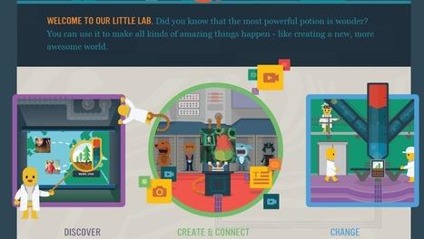 Crea y aprende con Laura: Wonderment. Plataforma creativa para los niños a través del mundo | Edu-Recursos 2.0 | Scoop.it