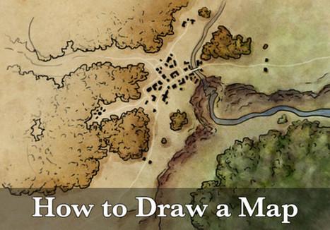 How to draw a map - Fantastic Maps | Arts & numérique (ou pas) | Scoop.it