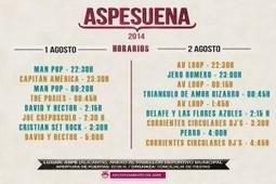 Horarios del Aspesuena 2014 | TODOINDIE | Scoop.it