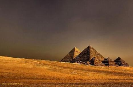 Twitter / GoogleEarthPics: The Great Pyramids of Ancient ... | Ancient Egypt | Scoop.it