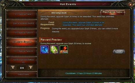 Wartune Addicts Blog: Wartune New Events 01/18: Sylph Enchant and Sylph Upgrade! | Wartune Addicts | Scoop.it