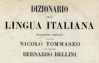 Dizionario della lingua italiana | Etimología it | Scoop.it