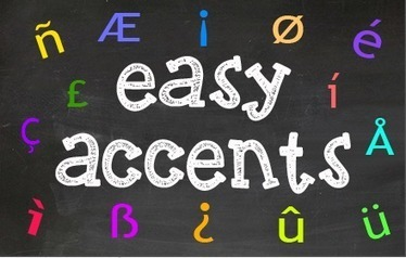 A Wonderful Google Drive Tool to Insert Different Accents in Your Docs   Time to Learn   Scoop.it