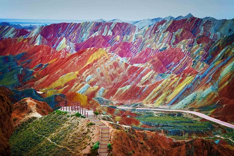LOOK: These Rainbow Mountains Actually Exist! China's #Danxia Landform Geological Park Are Very, Very Real. | Why Geology Rocks | Scoop.it