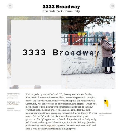 The Typography A to Z of Broadway by Hopes & Fears | Design | Scoop.it
