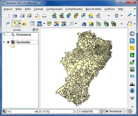 Como Selecionar por Localização no QGIS | Anderson Medeiros | Materiais didáticos: QGIS | Scoop.it