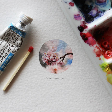 #365 #Days in the #Year. 365 #Miniature #Paintings. #art | Luby Art | Scoop.it