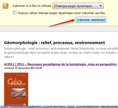Tutoriel : veille facile avec les flux RSS sur Firefox | Time to Learn | Scoop.it