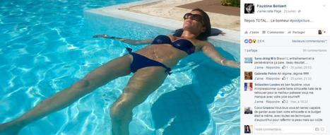 Photos : Faustine Bollaert en bikini sexy | Radio Planète-Eléa | Scoop.it