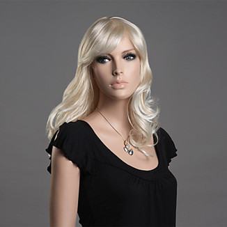 100% Japanese Kanekalon Synthetic Long Curly Ash Blonde Wig – WigSuperDeal.com | Party Wigs | Scoop.it