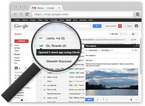 Gmail : recevoir un accusé de réception avec MailTrack | Le Monde 2.0 | Scoop.it