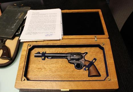 Wyatt Earp Colt .45 sells at auction | New & Vintage Collectibles | Scoop.it
