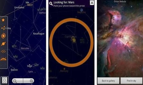 Sky Map, explorando el cielo con la cámara de tu Android | Natura educa | Scoop.it