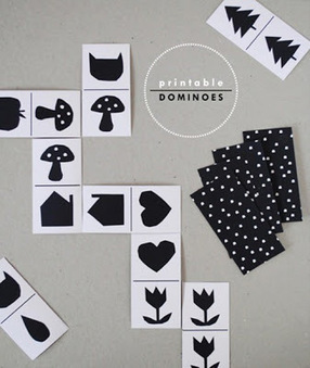 Baby the Kid!: DIY : des dominos à imprimer! | Enfant bébé maman | Scoop.it