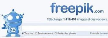 Un moteur de recherche de ressources graphiques libres - Freepik   TIC et TICE mais... en français   Scoop.it