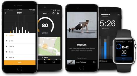 """SPORTNEXT   """"Helpen mobiele sport apps mij om fitter te worden?""""   socialmediasport   Scoop.it"""