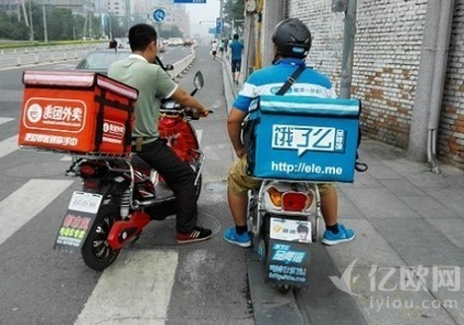 Hungry Now? Crackdown on China's Food Delivery Apps Eleme and Meituan | SemioFood | Scoop.it