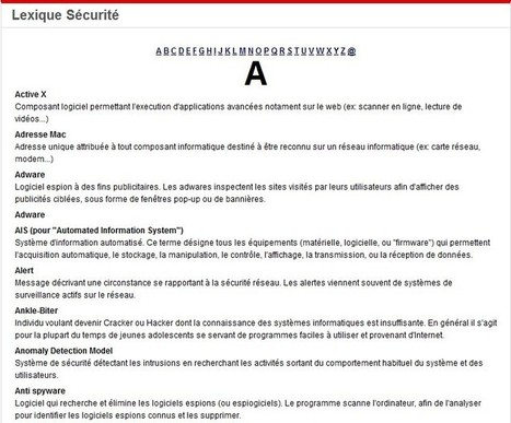 Sécurité PC et Internet/Sources d'information | ICT Security Tools | Scoop.it