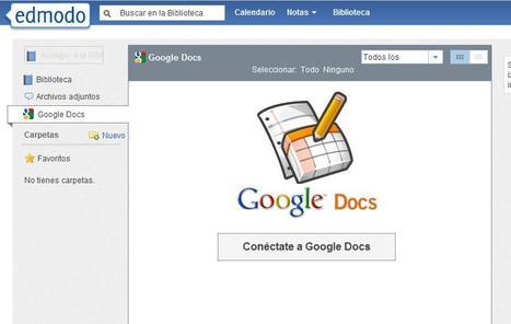 Edmodo integra Google Docs | Searching & sharing | Scoop.it