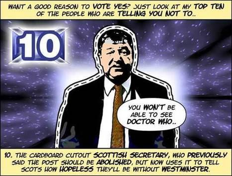 Ten Cartoon Reasons To Vote Yes | Greg Moodie | Referendum 2014 | Scoop.it
