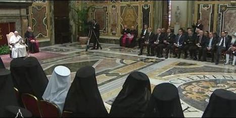 Francisco apunta al ecumenismo como una de las prioridades de su pontificado | Casa de la Sabiduría | Scoop.it