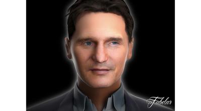 Liam Neeson en 3D   3D Library   Scoop.it