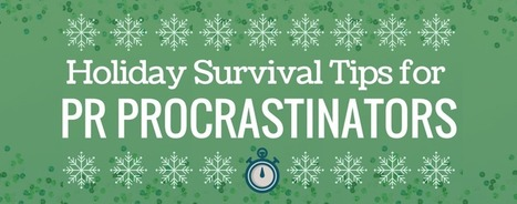 3 Media Relations Reminders for Last-Minute Holiday Pitches | Everything about PR | Scoop.it