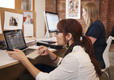 Co-working Is My Stress Relief -- More Women Should Do It - Huffington Post   Curated by Elevate Coworking, Phoenix AZ   Scoop.it