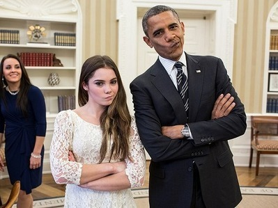 Obama hace cara de 'meme' con gimnasta McKayla Maroney - Milenio.com | Low OCTANE - SocialOne | Scoop.it