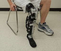 See the world's first mind-controlled prosthetic leg in action | Glimpse into the Future | Scoop.it