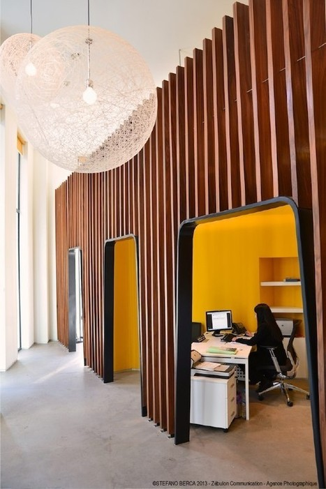 27 Office Workspaces from Around the World | Visual Loop Inspiration | Scoop.it