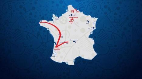 Euro 2016. La coupe présentée à Brest demain et jeudi | Brest | Scoop.it