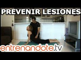 Como prevenir lesiones durante el ejercicio | ENTRENANDOTE.Tv Entrenamiento Online, Ejercicios en casa, Rutinas de Entrenamiento | Ejercicios en casa y rutinas de entrenamiento | Scoop.it