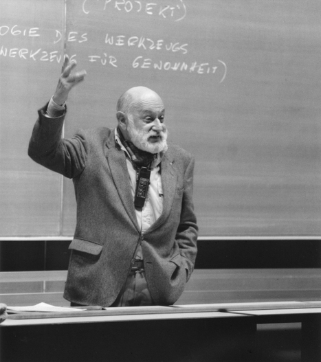 Flusser's View on Art: MECAD Online Seminar (2004) | Emergent Digital Practices | Scoop.it