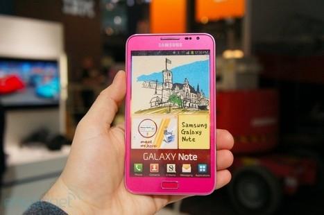 Galaxy Note Pink   Mobile Geek   Scoop.it