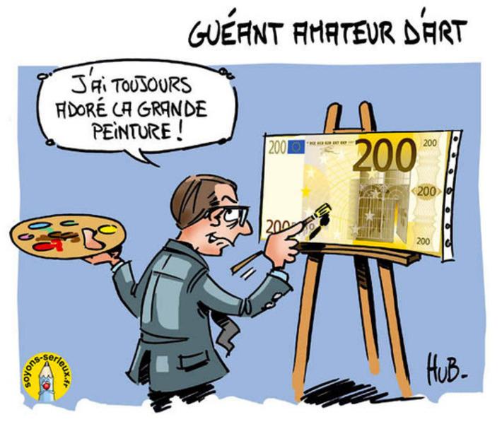 Claude Guéant ou l'amour de la peinture | Baie d'humour | Scoop.it