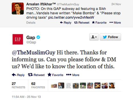 Someone Wrote Extremely Racist Comments On A Gap Ad, And Gap Responded Perfectly | consomacteur e-commerce | Scoop.it
