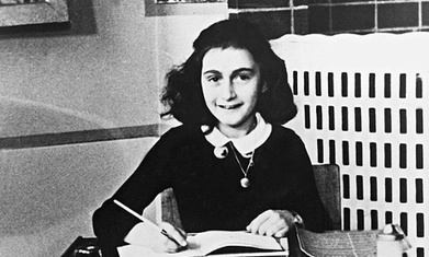 Anne Frank: 10 beautiful quotes from The Diary of a Young Girl | CGS Popular Authors | Scoop.it