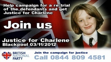 Justice for Charlene Downes demo in Blackpool 3rd November 2012   The Indigenous Uprising of the British Isles   Scoop.it