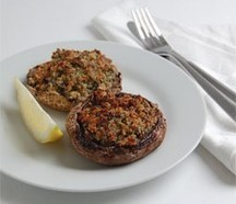Roasted Portobello Mushrooms - The Resourceful Cook | Sharon's Recipes | Scoop.it