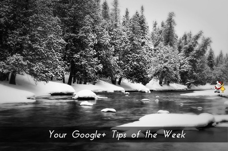 Google Plus Tips For December 6 | Social Media Products and Tools | Scoop.it