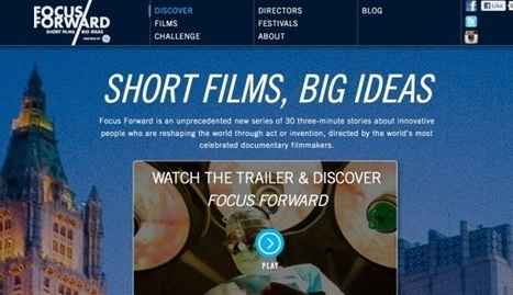 Vimeo debuts Focus Forward, a film series about the big ideas in tech | DSLR video and Photography | Scoop.it