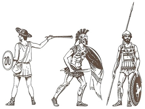 New military history related archaeology: Ancient Greece warrior | Ancient crimes and mysteries | Scoop.it