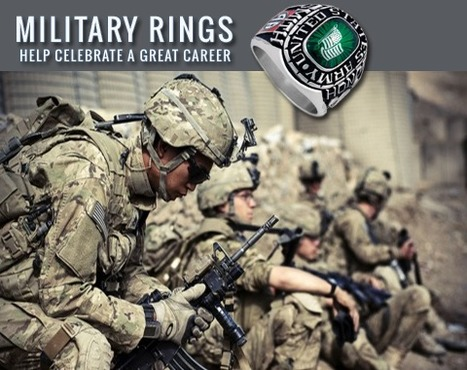 Customized Military Rings for all services with... | Custom Military Rings | Scoop.it