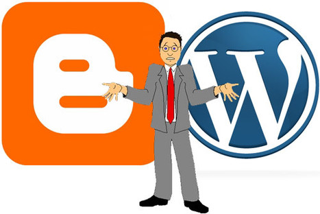WordPress vs Blogger : Qui choisir ? | Geeks | Scoop.it