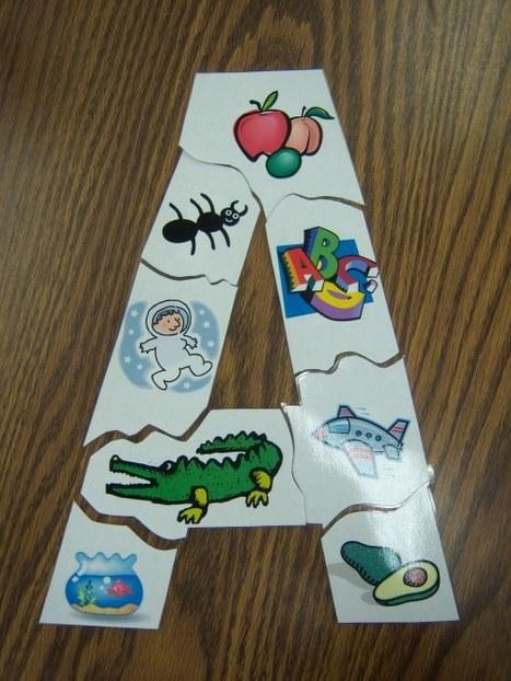 Puzzle des lettres, pour lesCP | Découvertes de SitesPE | Scoop.it
