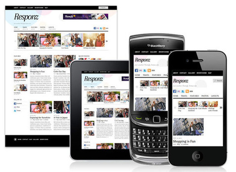Responsive web design framework | Website design | Scoop.it