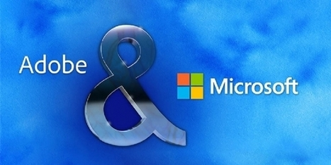 Microsoft et Adobe s'allient pour proposer une solution marketing CRM intégrée | INFORMATIQUE 2015 | Scoop.it