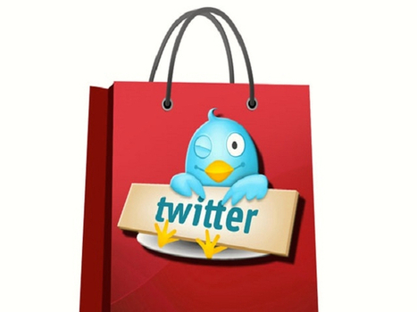 """Twitter with """"Buy"""" Button 