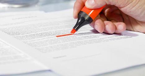 Legal Robot vérifie les contrats avant qu'ils ne soient signés | Pratiques IT | Scoop.it
